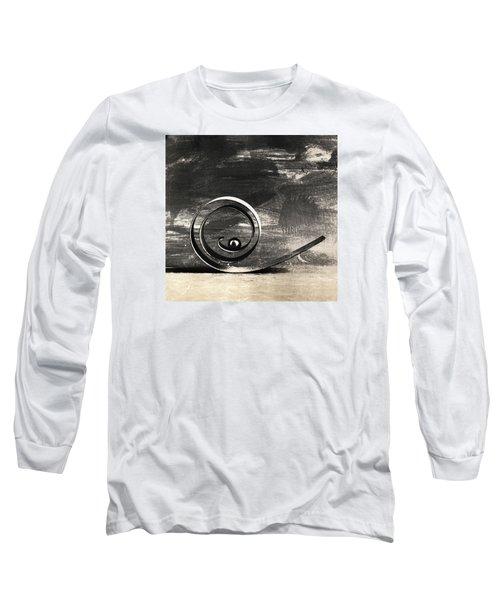Spiral And Ball Long Sleeve T-Shirt by Andrey  Godyaykin