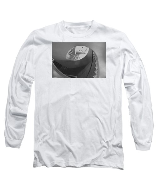 Spiral Stairs Long Sleeve T-Shirt by Helen Haw