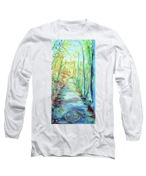 Spirale - Spiral Long Sleeve T-Shirt by Koro Arandia