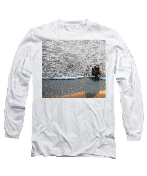 Splash Long Sleeve T-Shirt by Glenn Gemmell