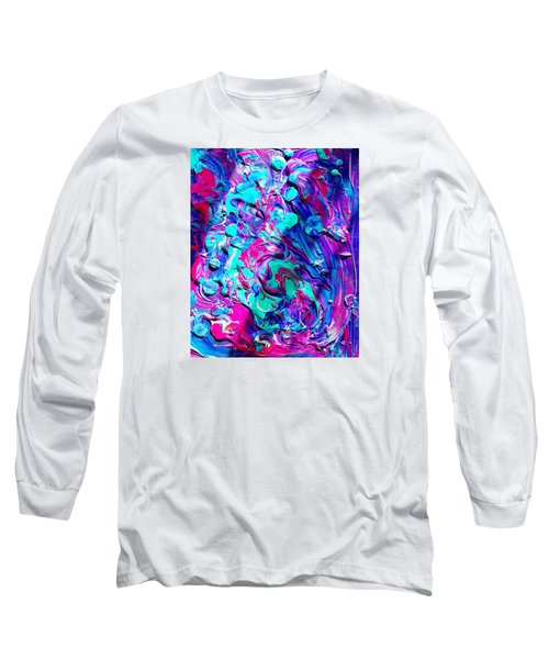 Splash Of Color Long Sleeve T-Shirt
