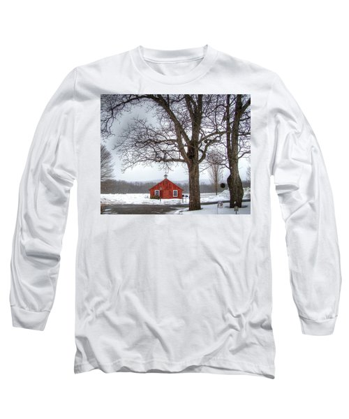 Spot Of Color Long Sleeve T-Shirt