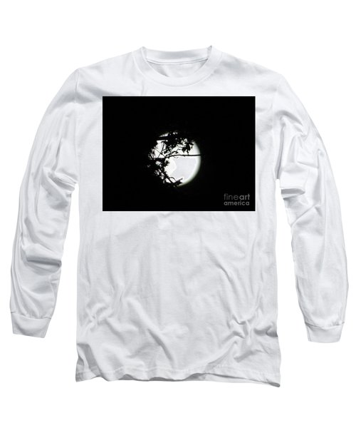 Spotlight Moon Long Sleeve T-Shirt