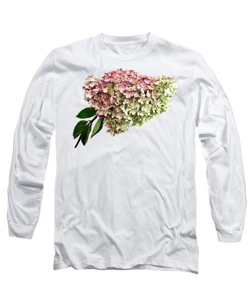 Sprig Of Hydrangea Long Sleeve T-Shirt