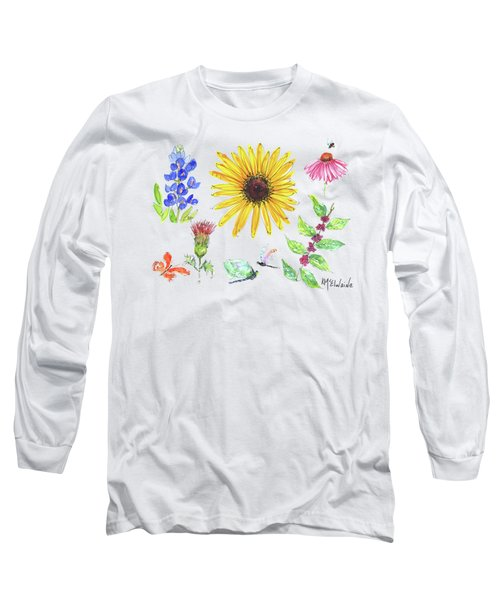 Spring 2017 Medley Watercolor Art By Kmcelwaine Long Sleeve T-Shirt