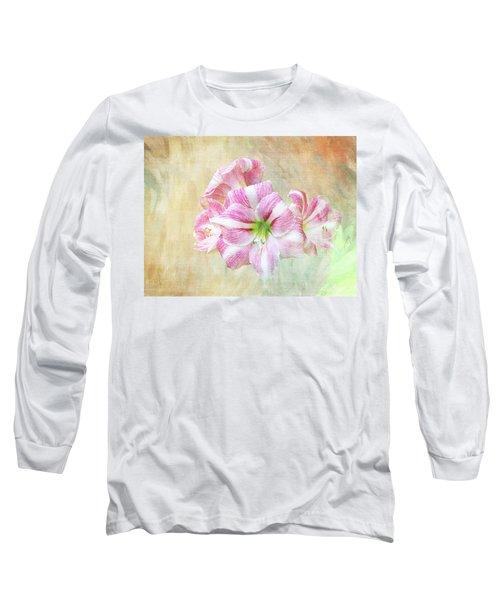 Springy Amaryllis Long Sleeve T-Shirt