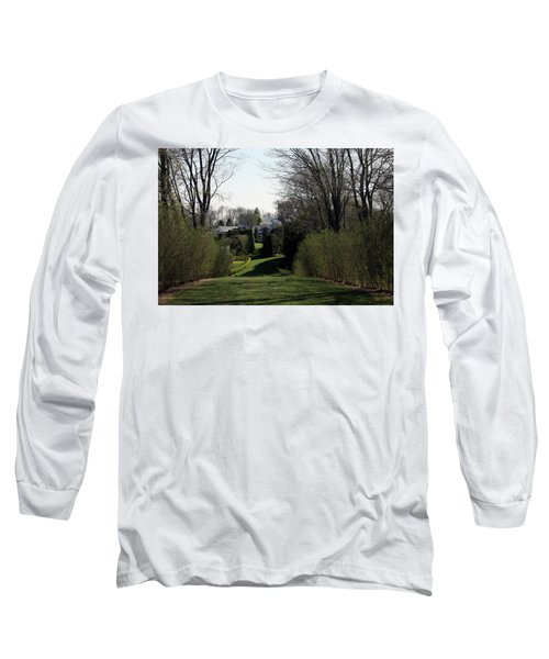 Spring At Ladew Topiary Gardens Long Sleeve T-Shirt