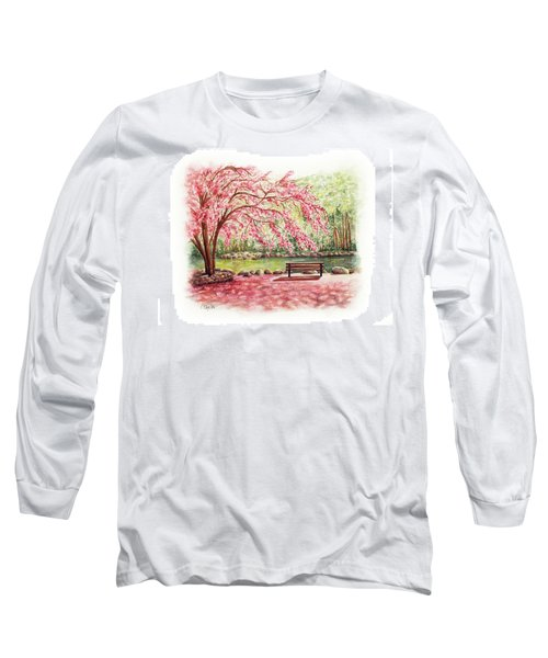 Spring At Lithia Park Long Sleeve T-Shirt