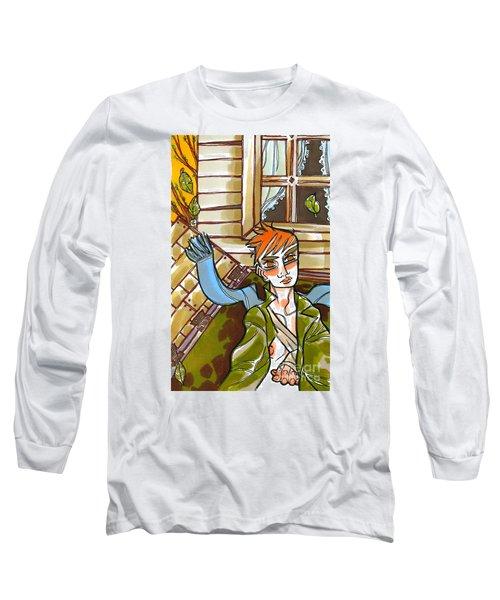 Autumnal Awakening Long Sleeve T-Shirt