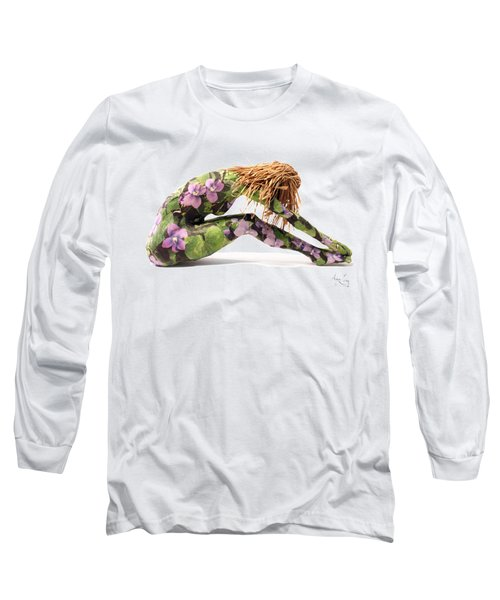 Spring Awakens Sculpture Long Sleeve T-Shirt