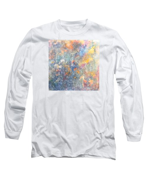 Spring Creation Long Sleeve T-Shirt by Theresa Marie Johnson