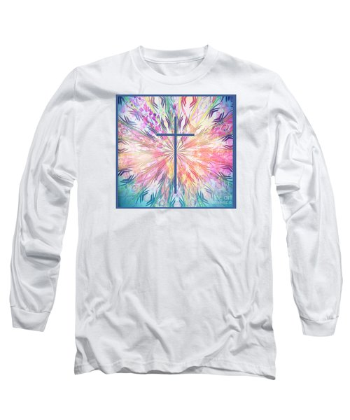 Long Sleeve T-Shirt featuring the photograph Spring Cross by Geraldine DeBoer