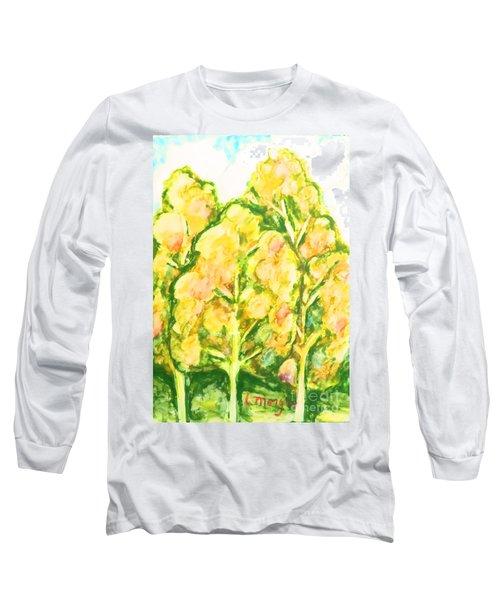 Spring Fantasy Foliage Long Sleeve T-Shirt