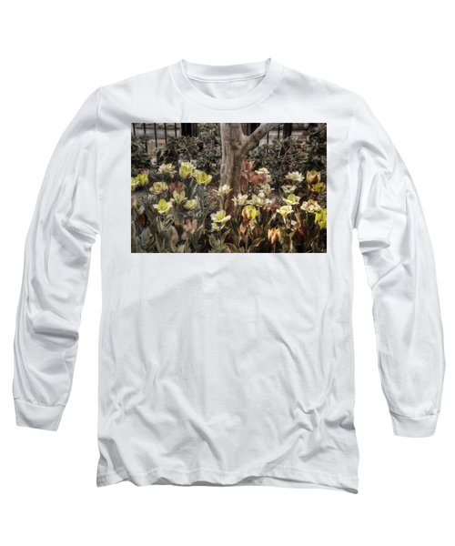Long Sleeve T-Shirt featuring the photograph Spring Flowers by Joann Vitali