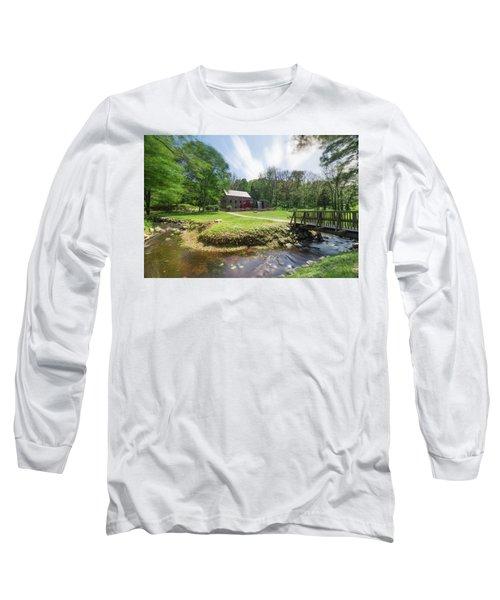 Spring In Sudbury Long Sleeve T-Shirt