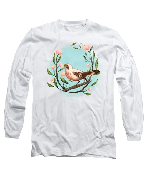 Spring Is Forever In My Heart Art Print Long Sleeve T-Shirt