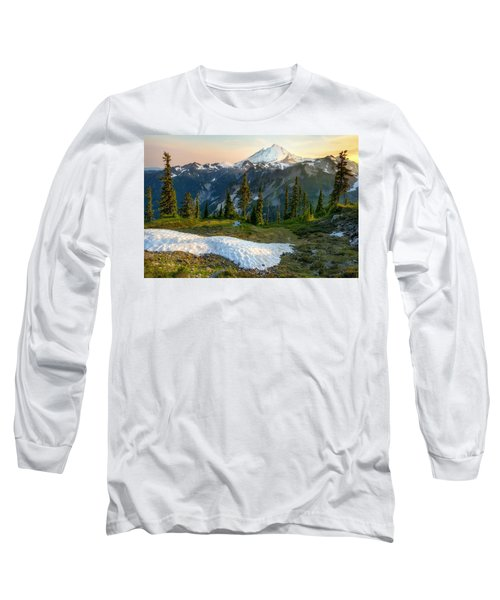 Spring Melt Long Sleeve T-Shirt by Ryan Manuel