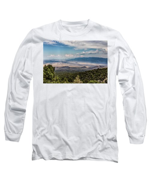 Spring Mountains Desert View Long Sleeve T-Shirt