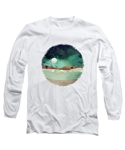 Spring Night Long Sleeve T-Shirt by Katherine Smit