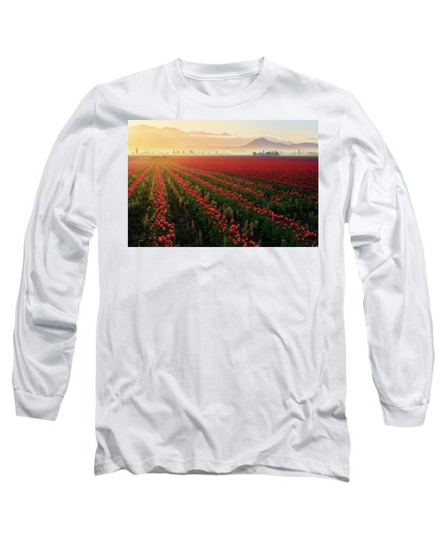 Spring Palette Long Sleeve T-Shirt by Ryan Manuel