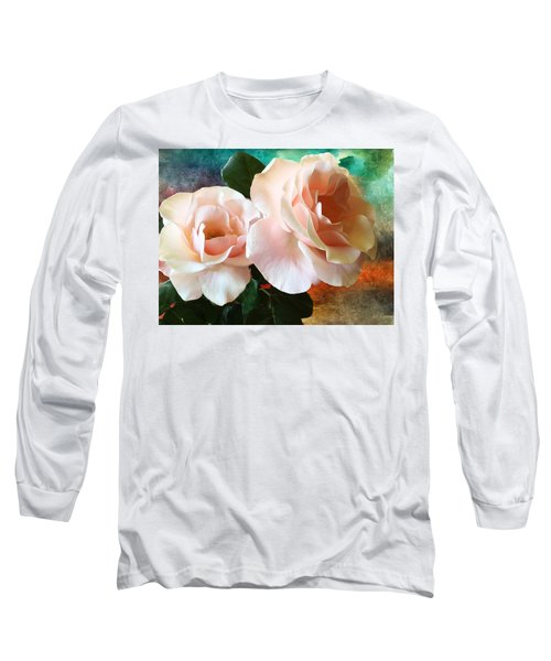 Spring Roses Long Sleeve T-Shirt by Gabriella Weninger - David