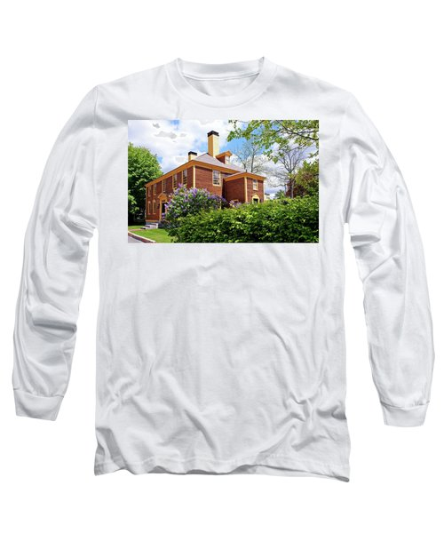 Long Sleeve T-Shirt featuring the photograph Springtime At Folsom Tavern by Wayne Marshall Chase