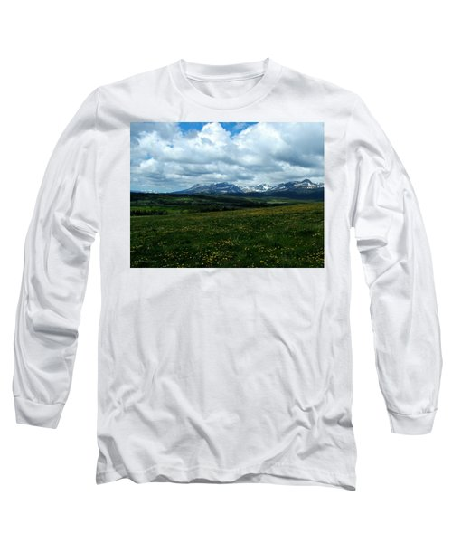 Springtime In The Rockies Long Sleeve T-Shirt