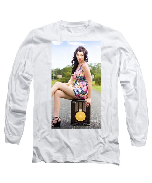 Springtime Vintage  Long Sleeve T-Shirt