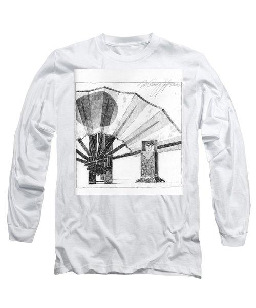 Spirit Of Japan. Fan And Matchbox Long Sleeve T-Shirt