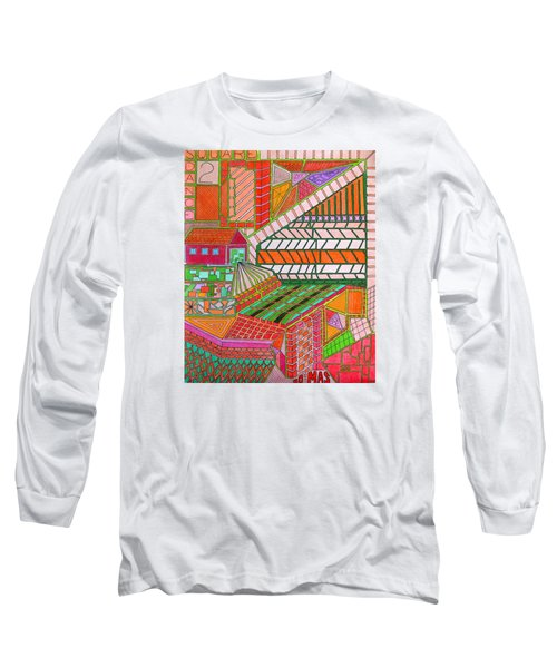 Square Dance 2 Long Sleeve T-Shirt
