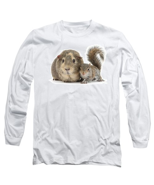 Squirrel And Guinea Long Sleeve T-Shirt