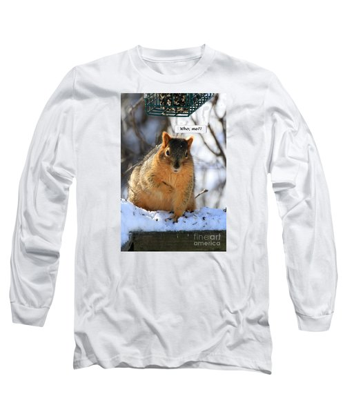 Squirrel Guilty By Association Long Sleeve T-Shirt
