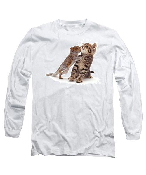 Squirrel Kiss Long Sleeve T-Shirt