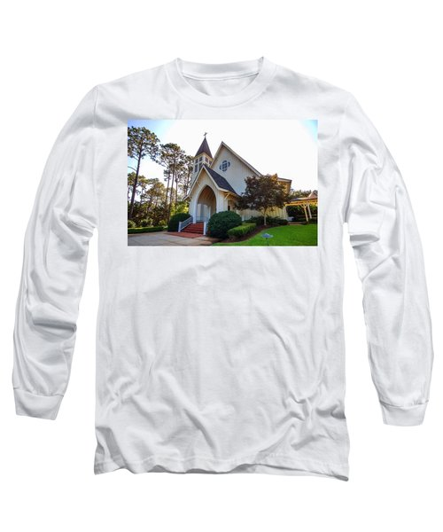 Long Sleeve T-Shirt featuring the photograph St. James V2 Fairhope Al by Michael Thomas