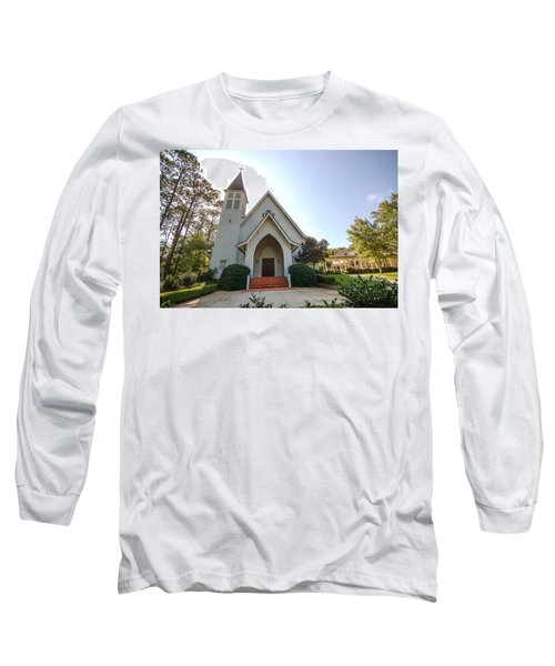 Long Sleeve T-Shirt featuring the photograph St. James V3 Fairhope Al by Michael Thomas
