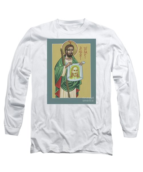 Long Sleeve T-Shirt featuring the painting St Jude Patron Of The Impossible 287 by William Hart McNichols