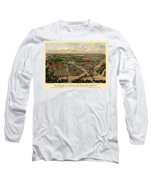 St. Louis Worlds Fair 1904 Long Sleeve T-Shirt