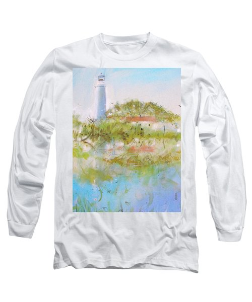 St Marks Lighthouse Long Sleeve T-Shirt