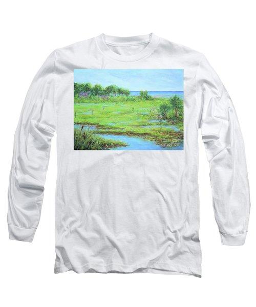 St. Marks Refuge I - Summer Long Sleeve T-Shirt
