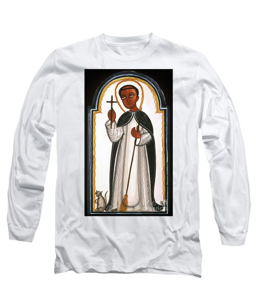 St. Martin Of Porres - Aomap Long Sleeve T-Shirt