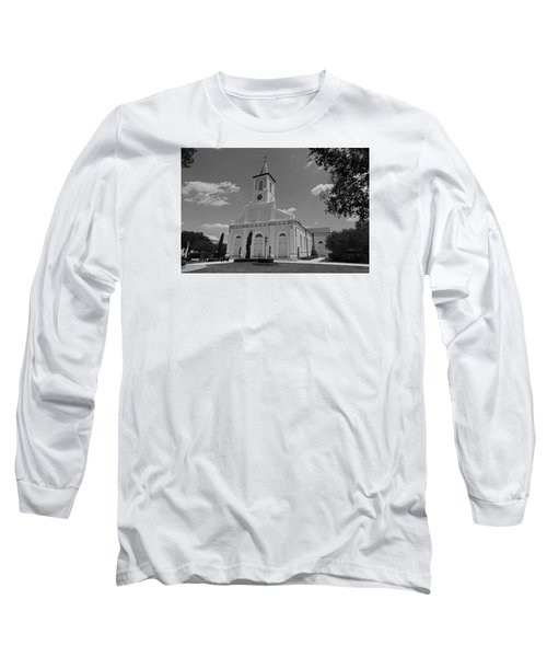 St. Martinville Church Long Sleeve T-Shirt by Ronald Olivier