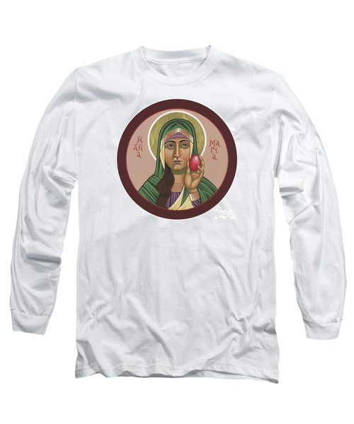 Long Sleeve T-Shirt featuring the painting St Mary Magdalen Preaches To Pontius Pilate 292 by William Hart McNichols