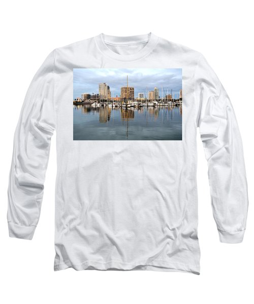 St Petersburg Marina Long Sleeve T-Shirt