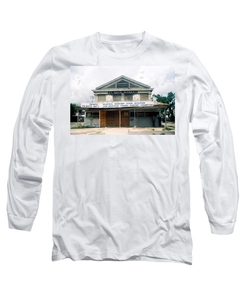 St Roch Market Long Sleeve T-Shirt