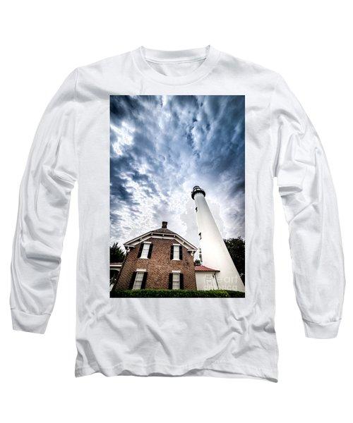 St Simons Lighthouse Long Sleeve T-Shirt