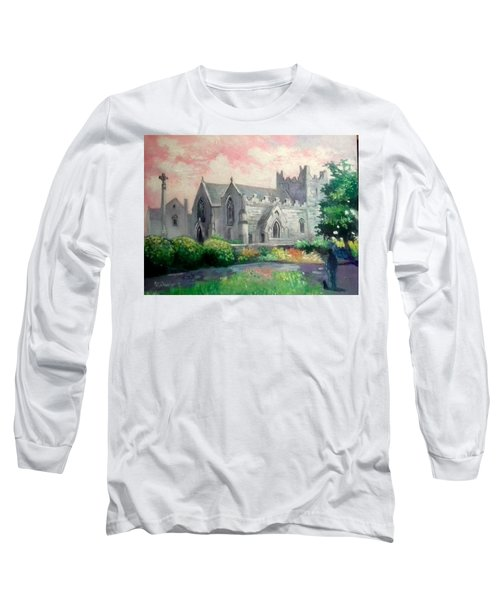 St Trinity Abbey Adare County Limerick Ireland Long Sleeve T-Shirt
