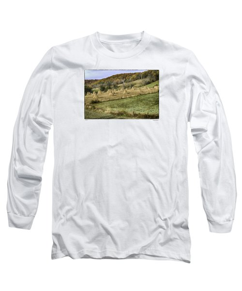 Stacked Long Sleeve T-Shirt by R Thomas Berner
