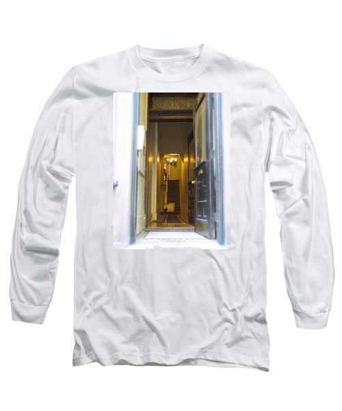Stairs Long Sleeve T-Shirt by Christopher Woods