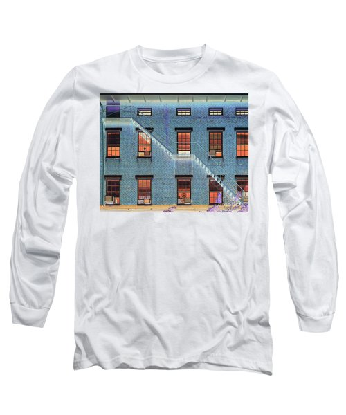 Stairwell At 2am Long Sleeve T-Shirt