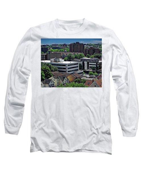 Stamford Aerial View Long Sleeve T-Shirt